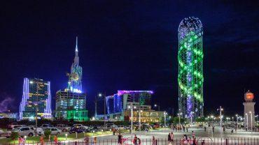 Batumi - geceleri - gürcistan