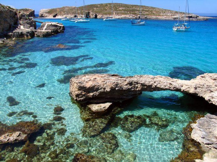 Blue Lagoon - Malta Comino Adası