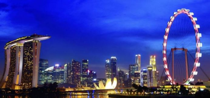Singapur-Gece