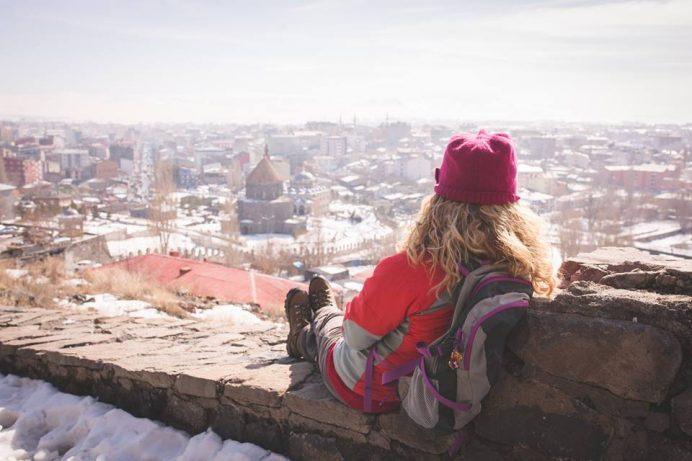 Kars gezilecek yerler kale manzarası