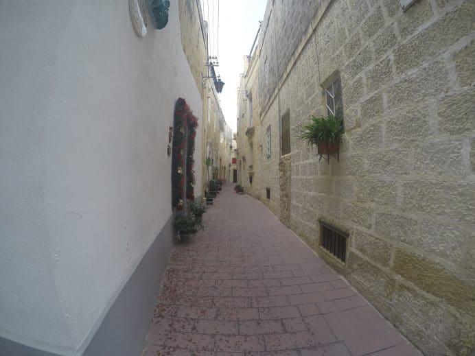 Mdina_Eski_Şehir_Sokakları