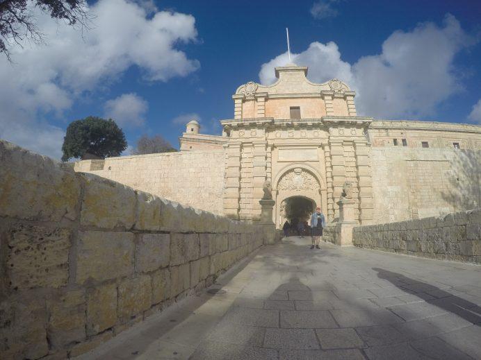 Mdina_Eski_Şehir_İhtişamlı_Giriş_Kapısı_Malta