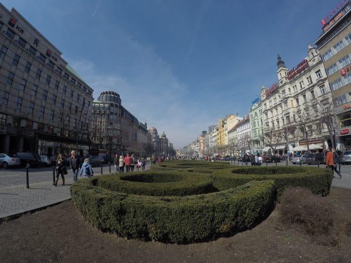 Wenceslas_Meydanı_Prag