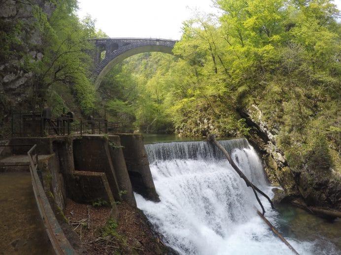 slovenya-gezilecek-yerler-vintgar-gorge-kanyonu