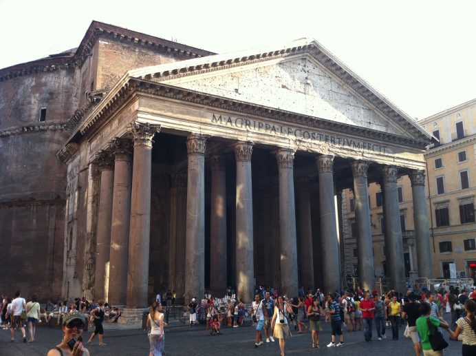 Pantheon_roma_italya