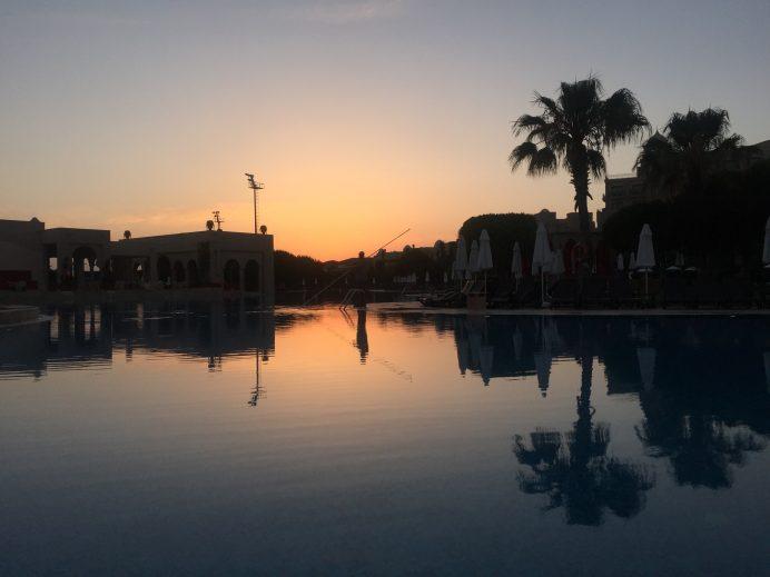 Antalya Belek ve Muhteşem Gün Batımı