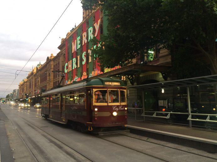 Avustralya'da yaşam : Melbourne-Flinders Street-Avustralya