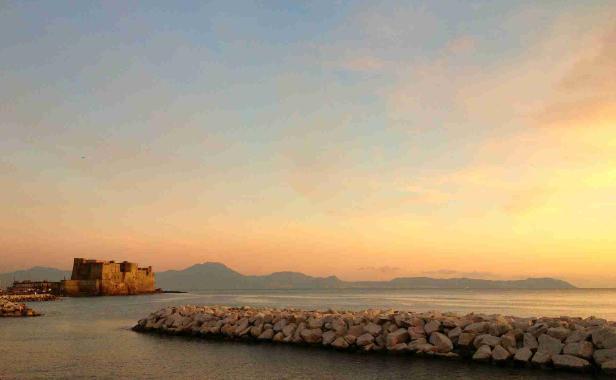 Napoli-Gün-Batımı