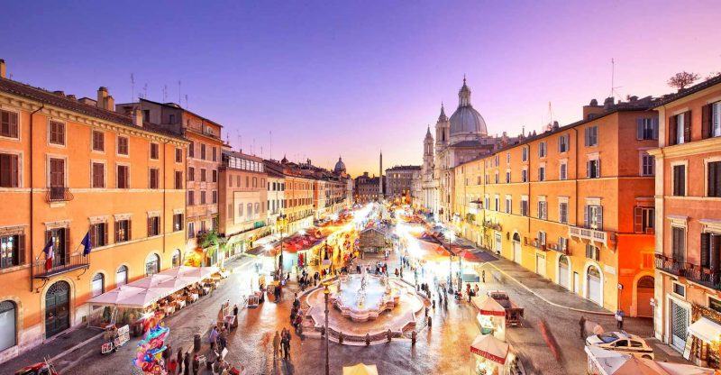 Piazza Navona İtalya