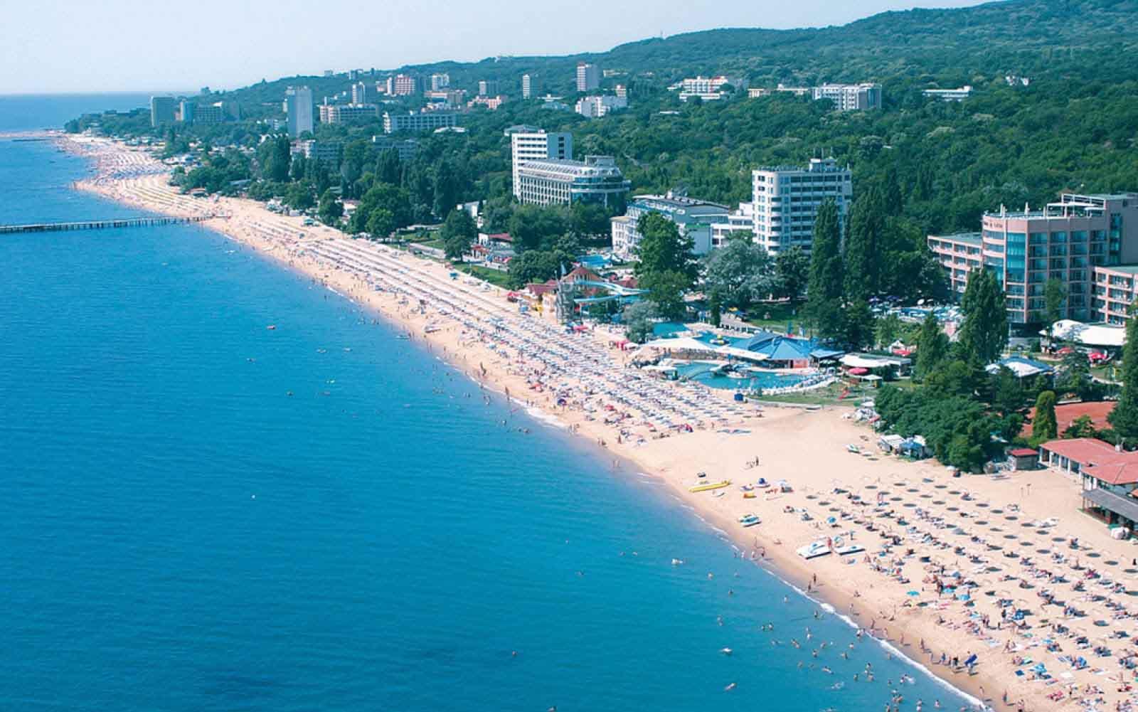 Sunny beach солнечный берег
