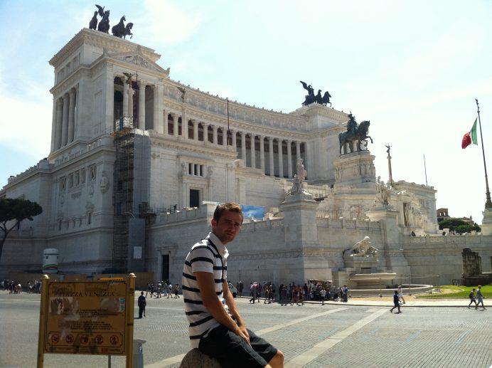 Vittorio Emanuelle II Abidesi-Roma