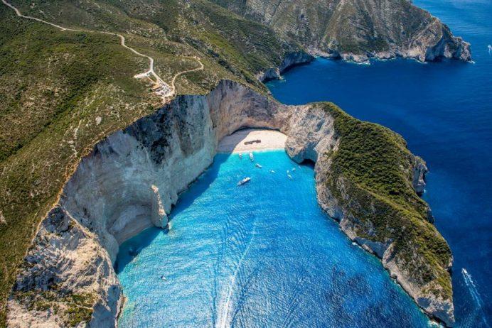 Zakynthos Adası ( En Güzel Manzaralar )