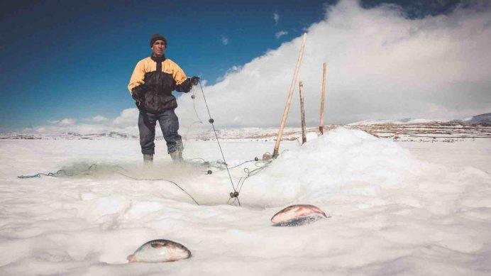 kars - çıldır - gölü - balıkçılar