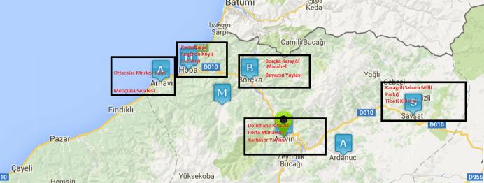 artvin-harita