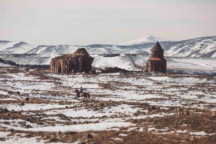 ani harabeleri manzaraları kars