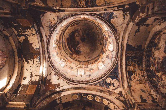 Ani Katedrali İç Görünüm