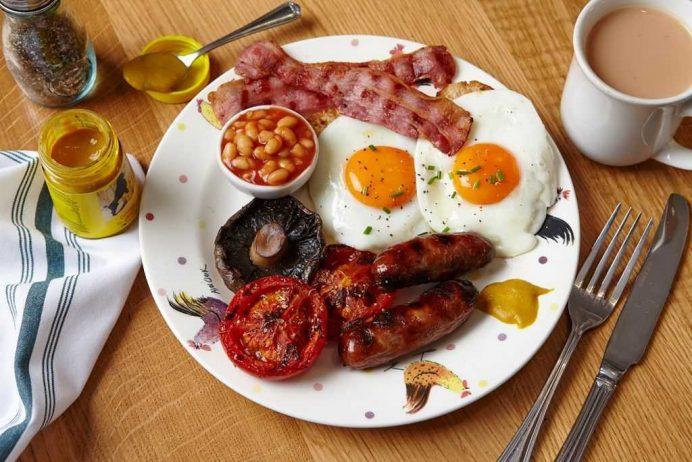 ingiliz kahvaltısı londra restoranları