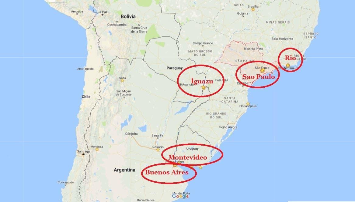 Güney Amerika