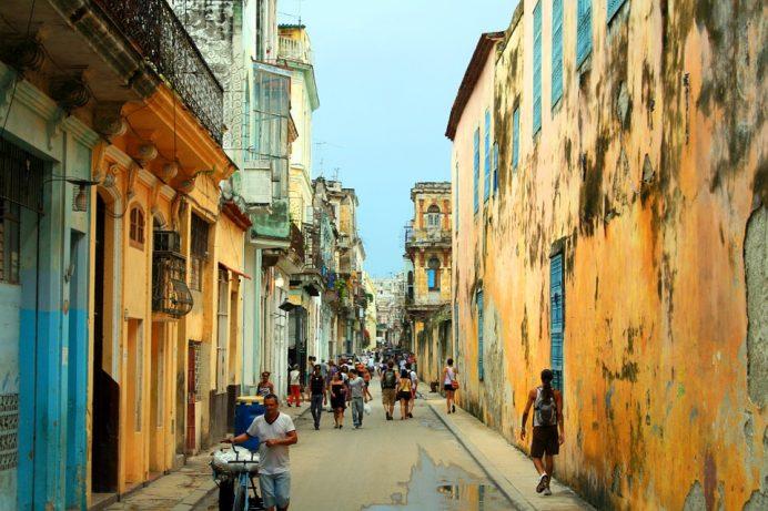 Küba - Sokakları - küba