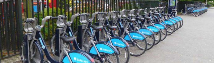 londrada bisikletle ulaşım