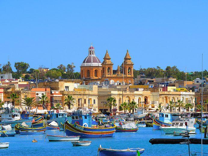 Marsaxlokk_Balıkçı_Kasabası _Malta