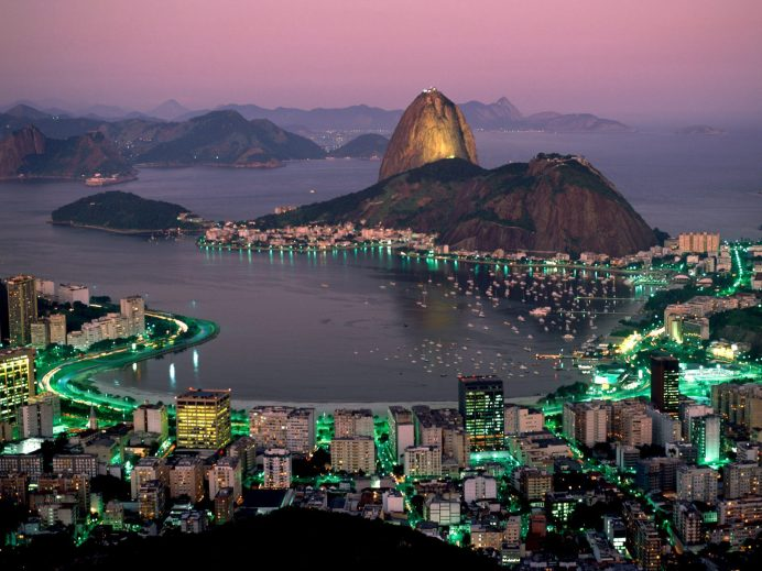 Brezilya - Rio Manzarası