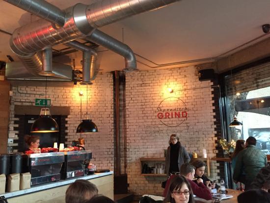Londra'da Nerede Kahve İçilir?: Shoreditch Grind