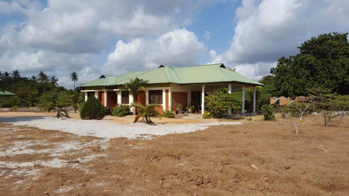Tanzanya Darüsselam'da gönüllü çalışma kampında kaldığım ev.