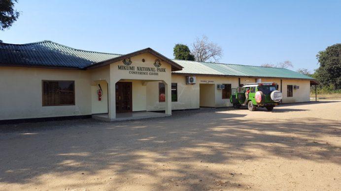 Tanzanya konaklama - Mikumi Milli Parkı konukevi.