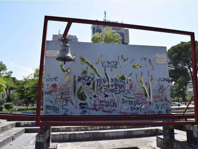 Barış-çanı-Arnavutluk-Tiran