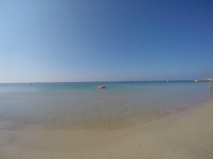 ayazma plajı manzara
