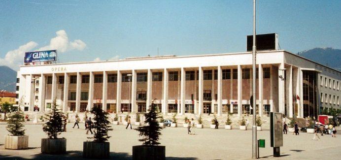 Opera binası-Arnavutluk-Tiran