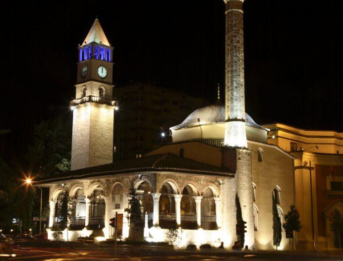 Saat Kulesi-Arnavutluk-Tiran fotoğrafları
