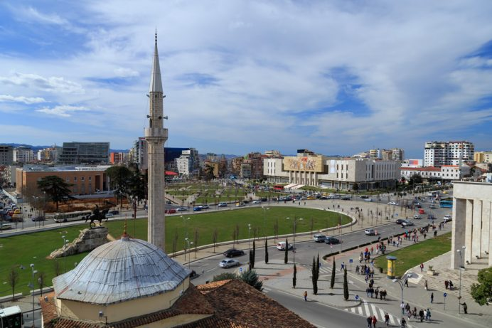 Tirana_Skanderberg-square-Albania