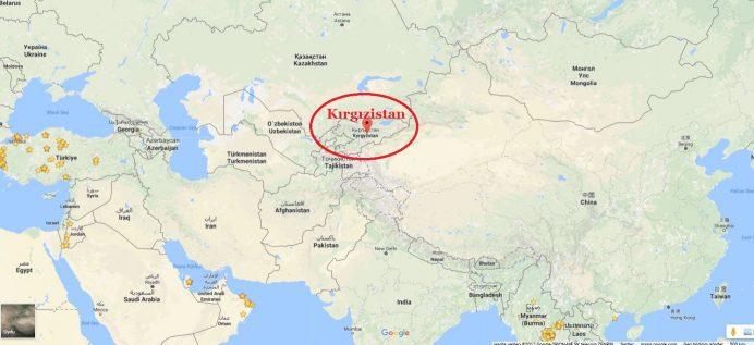 kırgızistan_nerede