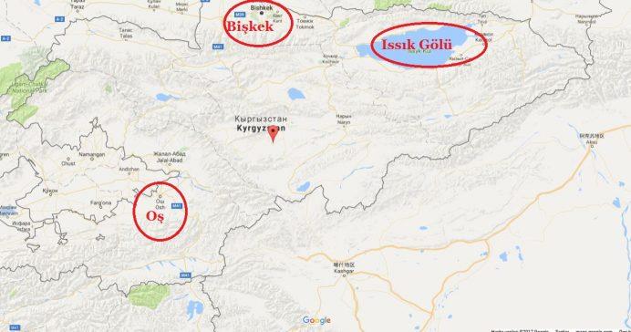 kırgizistan_haritası