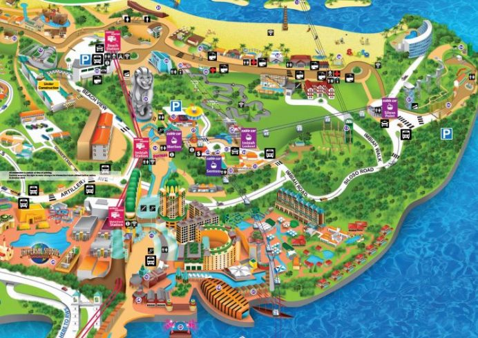 sentosa-map