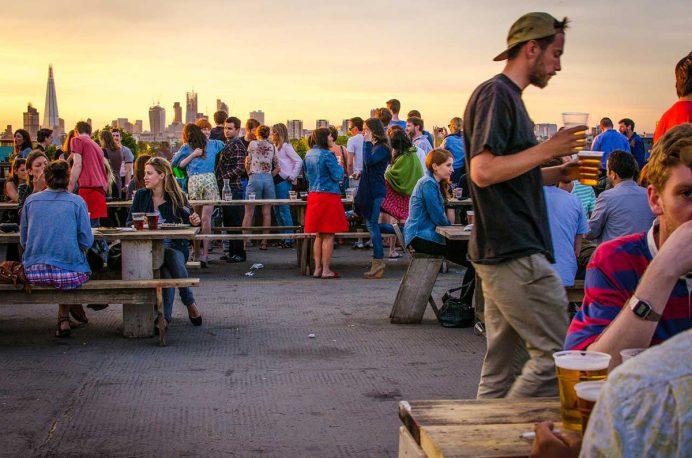 Frank's Cafe: Londra'nın En İyi Rooftop Barları