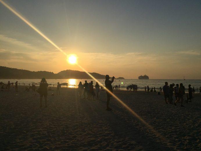 Patong_GunBatimi phuket adası