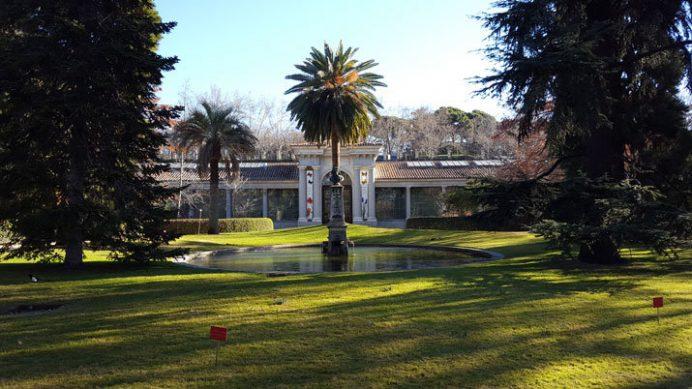 İspanya'nın Başkenti Madrid'de yer alan Ulusal Botanik Bahçesi
