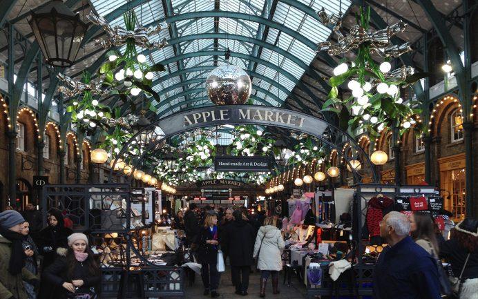 Londra da Gezilecek Yerler: Covent Garden