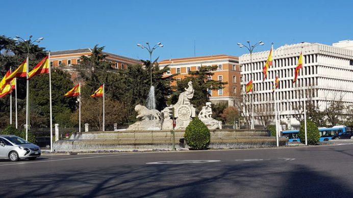 Madrid Gezilecek Yerler: Fuente de Cibeles Meydanı