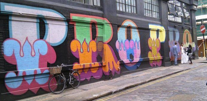 Shoreditch-Londra Graffiti-Doğu Londra-Londra'da Gezilecek Yerler-İngiltere de Gezilecek Yerler