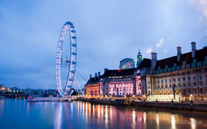 London Eye-Londra Gezilecek Yerler Blog-İngiltere Londra-Londra Dönme Dolap