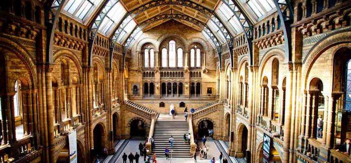 Londra Müzeleri: Natural History Museum-Londra Ücretsiz Müzeler