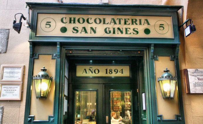 Chocolateria San Gines: churros için en güzel mekan