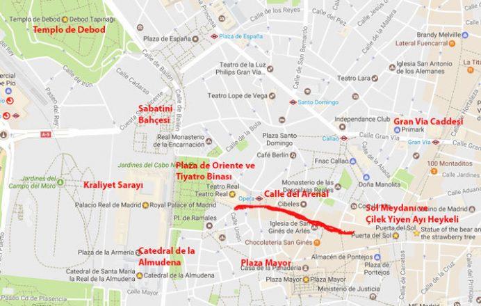 Madrid Gezilecek Yerler listesi: 1.Gün
