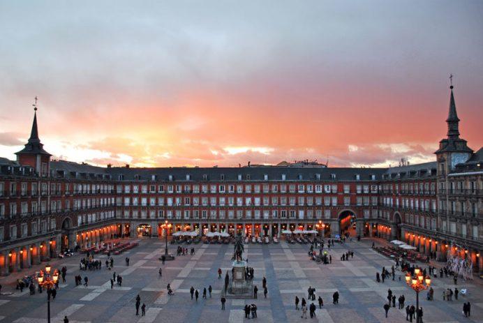 Madrid Gezilecek Yerler: Plaza Mayor