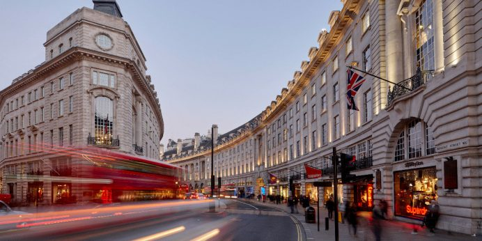 Londra'da Alışveriş Yapılacak Yerler-Regent Street