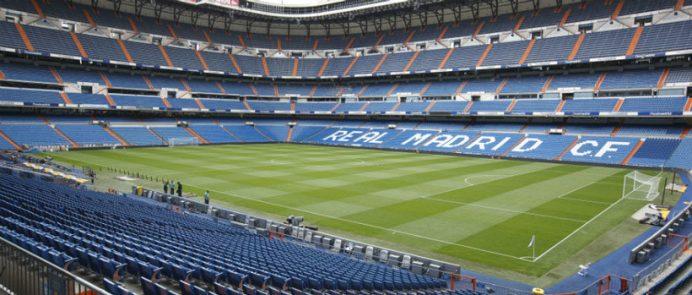 Dünyanın en büyük futbol takımlarından Real Madrid'in stadı Santiago Bernabeu